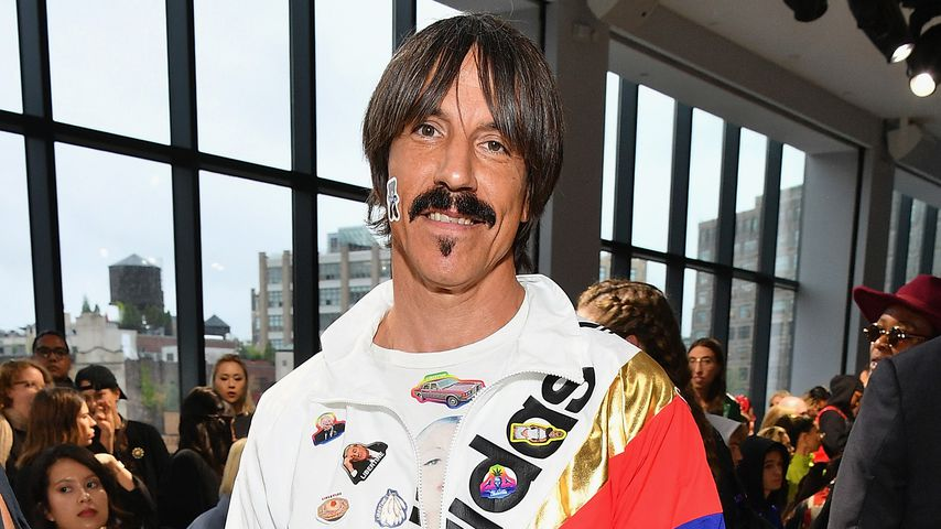 Anthony Kiedis bei der New York Fashion Week 2018