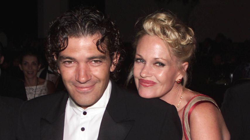 Antonio Banderas und Melanie Griffith in Los Angeles 2000