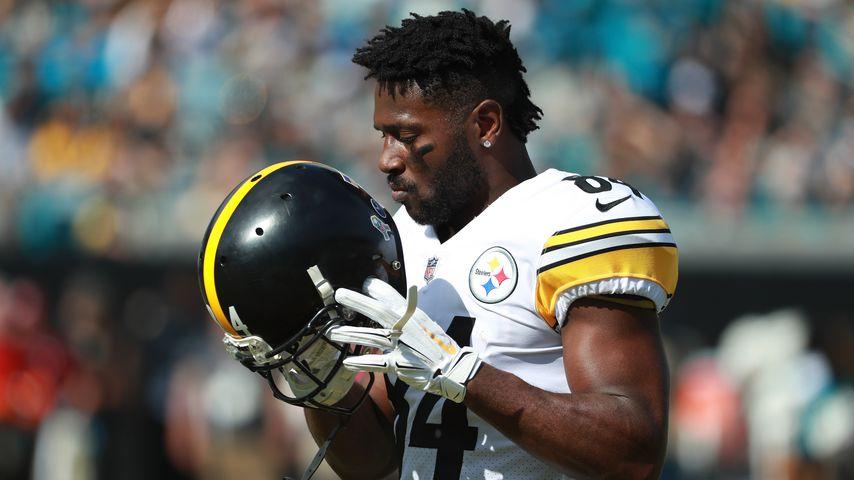 NFL-Star Antonio Brown im November 2018