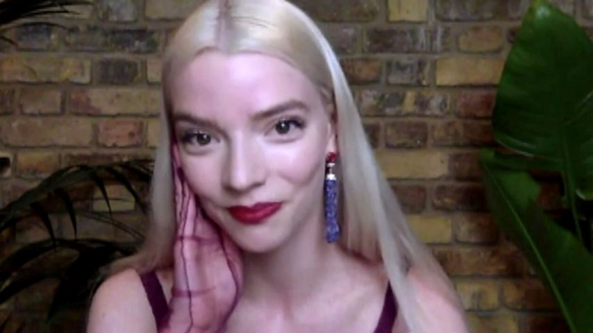 Anya Taylor-Joy bei der virtuellen Critics'-Choice-Awards-Verleihung 2021