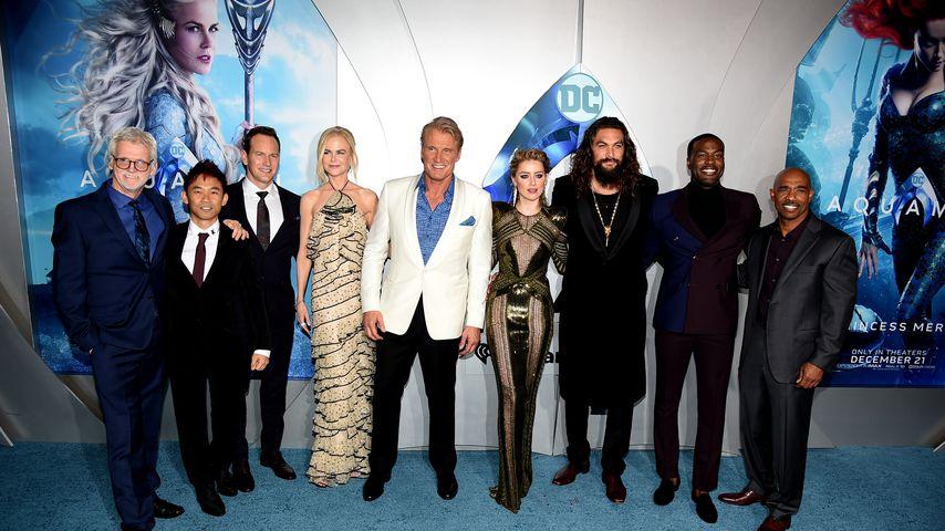 """""""Aquaman""""-Cast und - Crew in Los Angeles, Dezember 2018"""