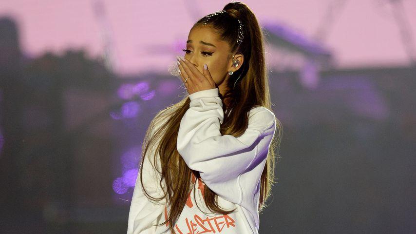 """""""Tu's nicht"""": Ariana Grande kommentiert Verlobungsring-Post!"""