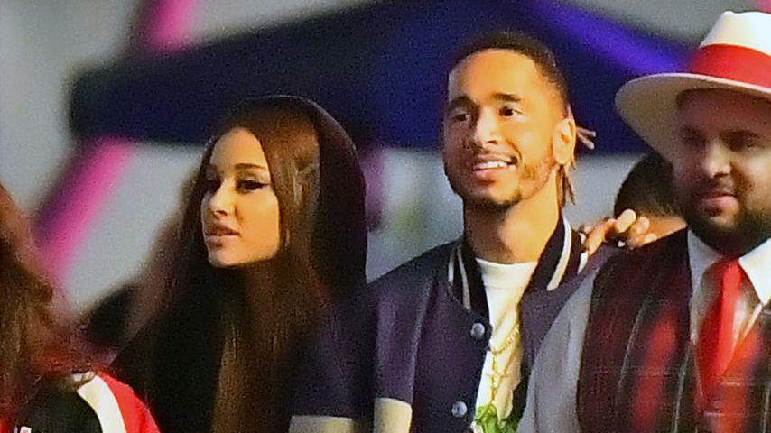 Nach Liebes-Gerüchten: Hier turtelt Ariana Grande mit Mikey