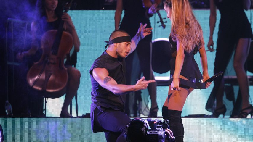 Ariana Grande und Ricky Alvarez