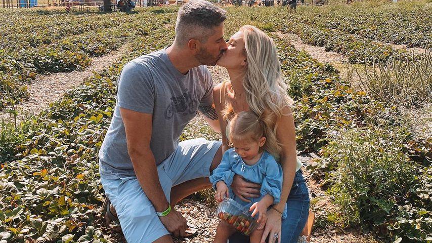 Arie Luyendyk, Jr. mit seiner Frau Lauren und Tochter Alessi