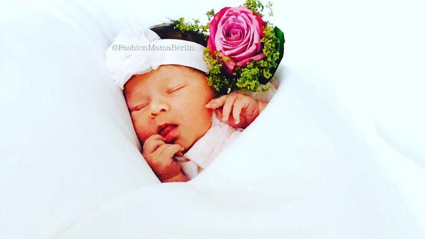 Zuckersüßes Foto: Oksana Kolenitchenko zeigt Baby Arielle!