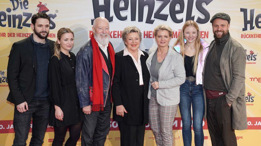 """Ein Teil des """"Lindenstraße""""-Casts im Januar 2020"""