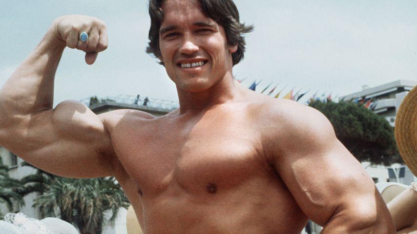 Arnold Schwarzenegger im Jahr 1977