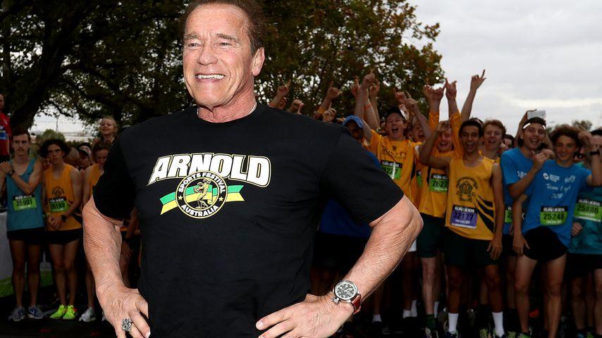 Arnold Schwarzenegger bei einem Charity-Event in Melbourne