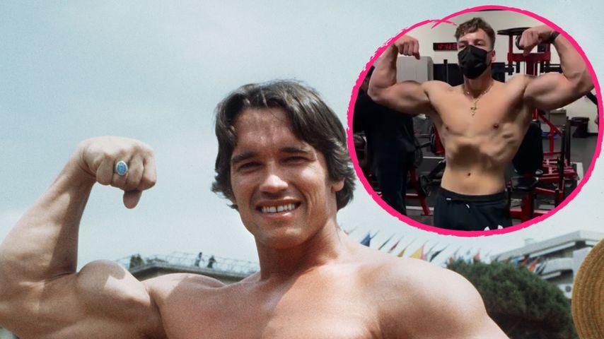 Krass! Arnold Schwarzeneggers Sohn Joseph immer muskulöser