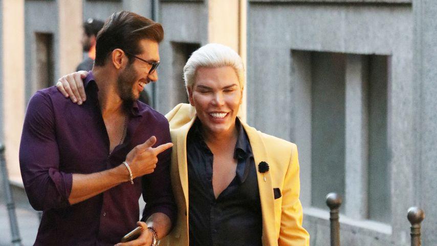 Artur Dainese und Rodrigo Alves in Italien, September 2018