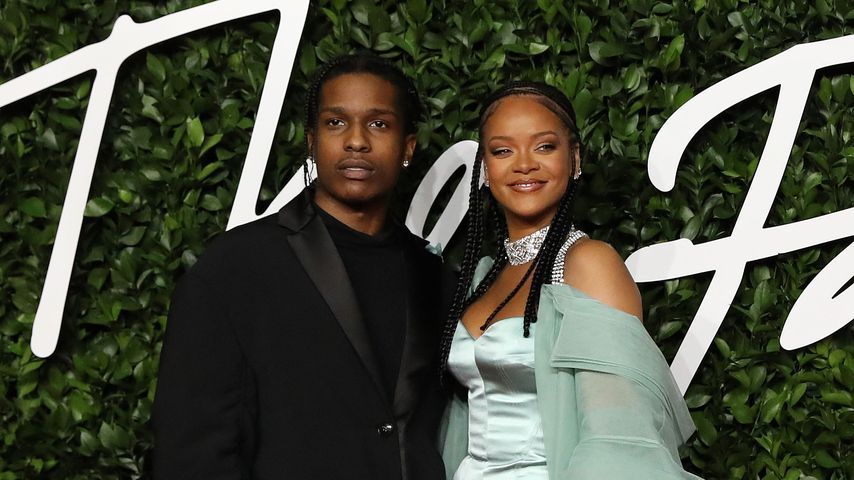 ASAP Rocky und Rihanna bei den British Fashion Awards