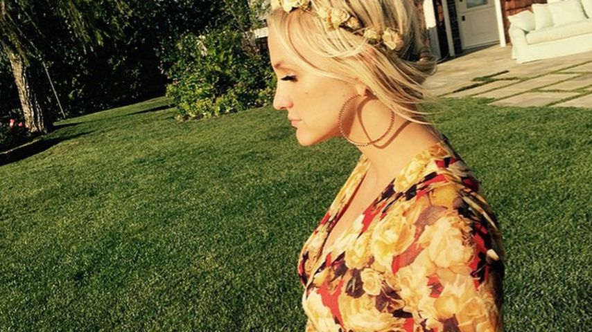 Schwangeres Blumenmädchen: So schön ist Ashlee Simpson