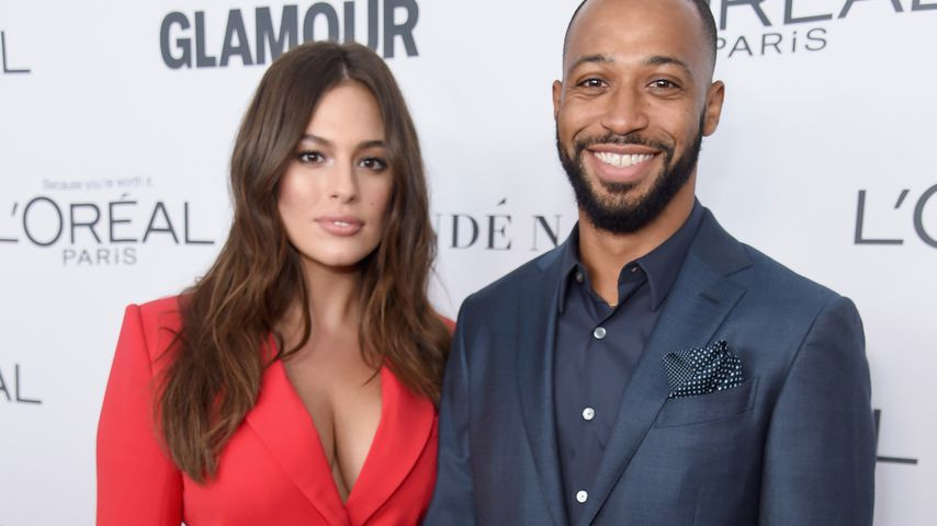 Ashley Graham und Justin Ervin bei einem Event in Brooklyn im November 2017