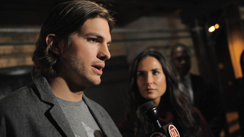 Ashton Kutchers Serien-Familie half ihm bei Demi-Trennung
