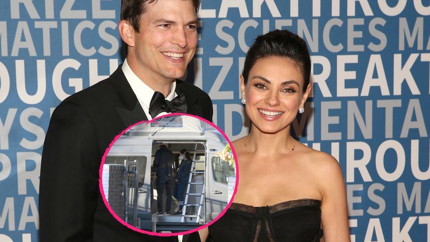 140.000 Dollar! Ashton Kutcher und Mila kaufen Wohnmobil
