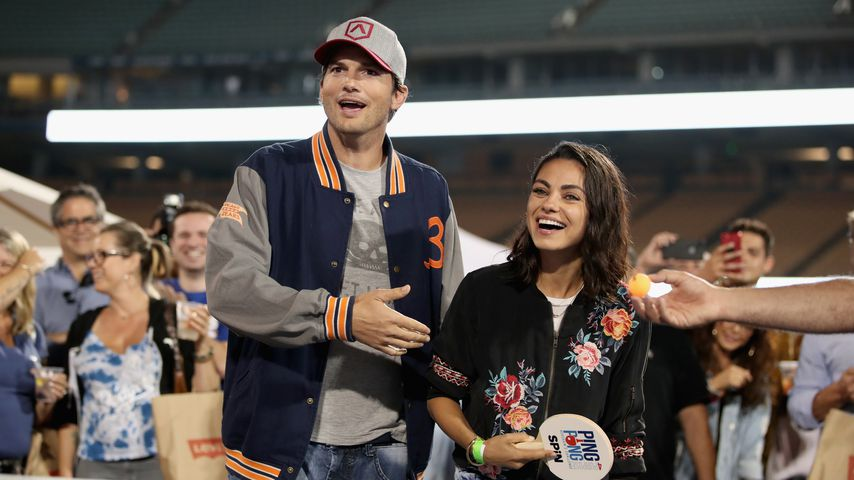 Ashton Kutcher und Mila Kunis im August 2018 in Los Angeles