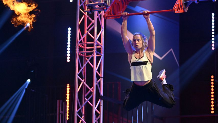 "Astrid Sibon bei ""Ninja Warrior Germany"" 2020"