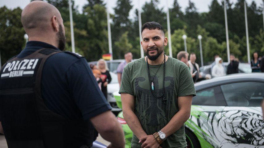 Attila Hildmann bei Protesten in Berlin im Juni 2020