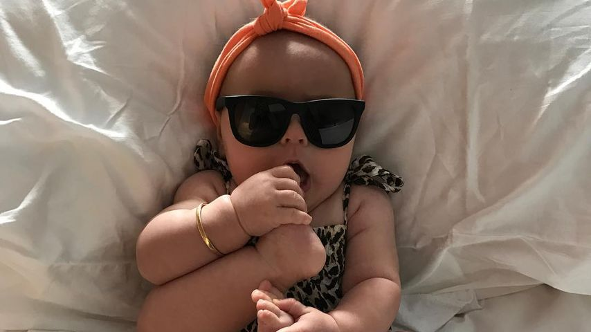 Cooles Stylo-Kid: Wem gehört denn diese süße Mini-Leo-Lady?