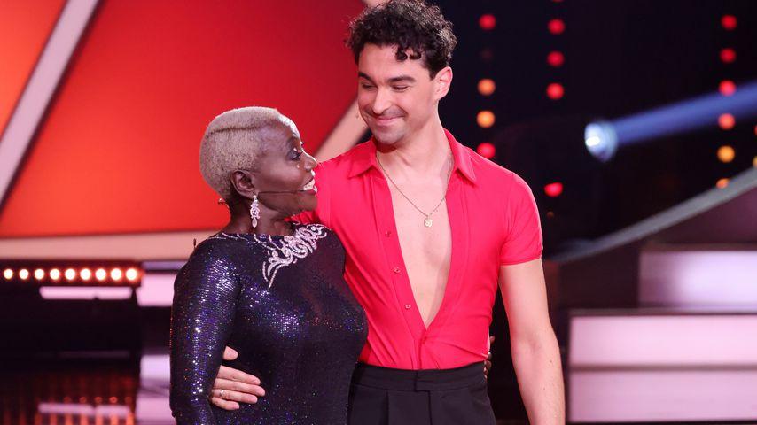 "Auma Obama und Andrzej Cibis, ""Let's Dance""-Tanzpaar 2021"