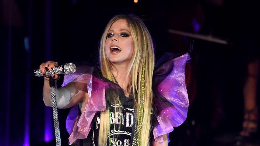 Avril Lavigne bei einem Konzert in Los Angeles, 2019