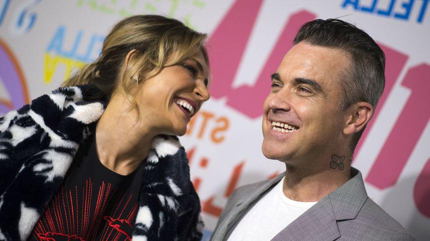 Ayda Field und Ehemann Robbie Williams