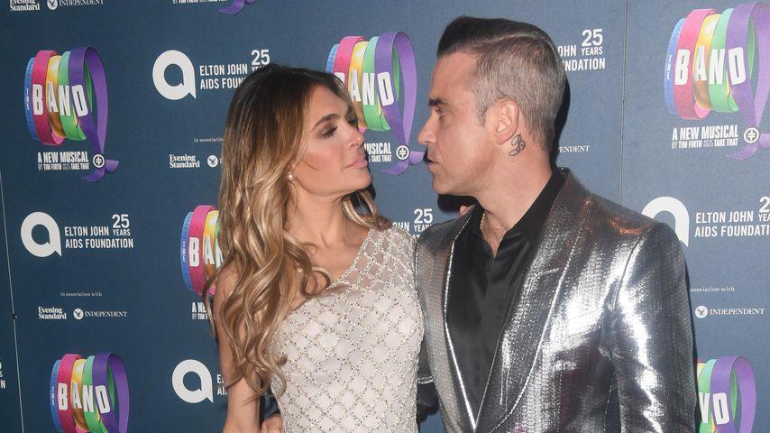 Ayda Field und Robbie Williams 2018 in London