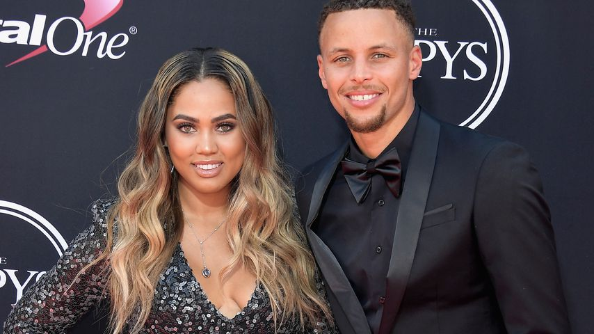 Baby-Foto! NBA-Star Stephen Curry zeigt endlich seine Ryan
