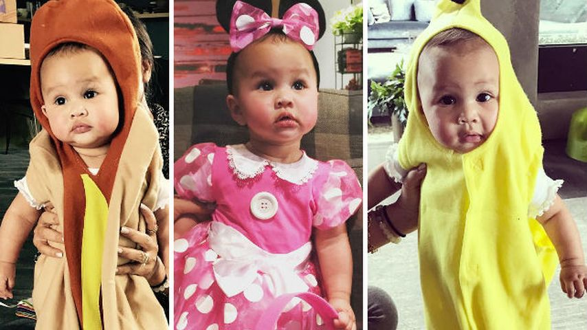 Süß! Dieses Promi-Baby hat gleich 3 Halloween-Kostüme