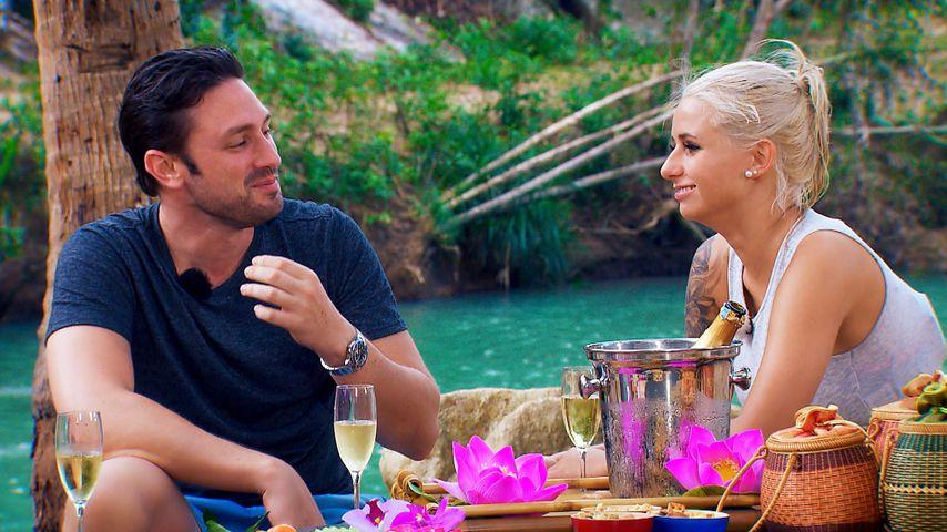 Bachelor Daniel Völz und Carina Spack beim Dreamdate
