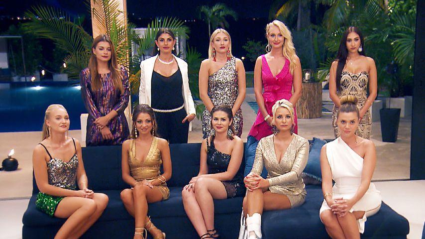 Bachelor-Kandidatinnen in der 5. Nacht der Rosen