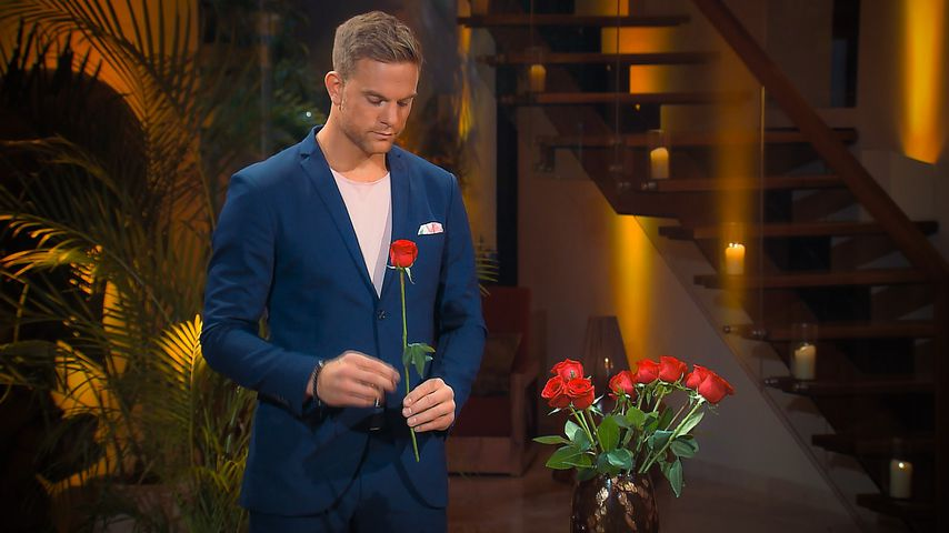 Bachelor Sebastian Preuss in der vierten Nacht der Rosen