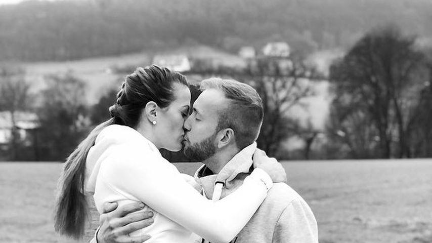 Bäuerin Denise mit ihrem Partner Nils