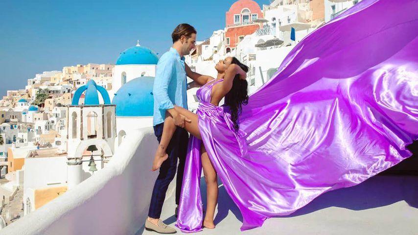 Lugner-Ex Bahati Venus genießt Urlaub mit ihrem Freund