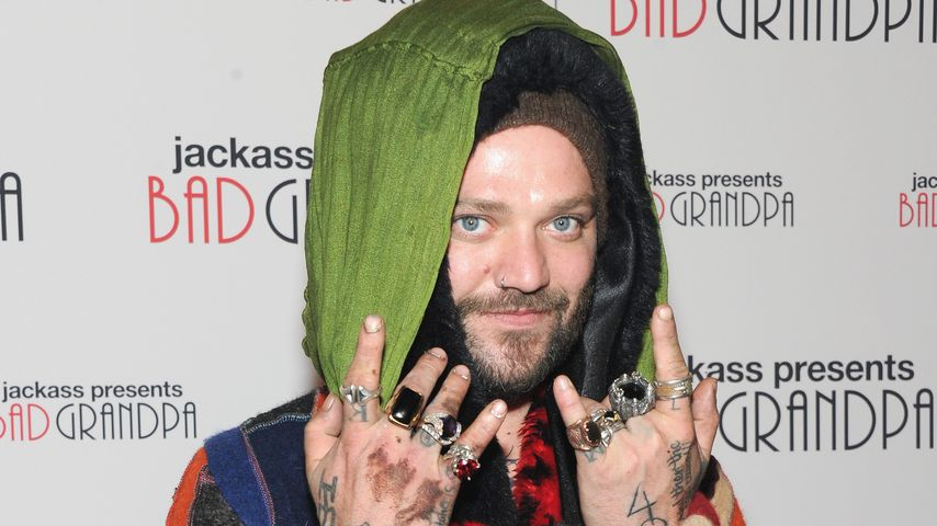 "Bam Margera bei der ""Bad Granpa""-Premiere in New York 2013"
