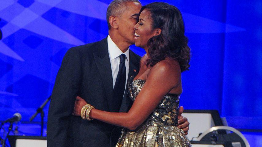 Barack und Michelle Obama 2016