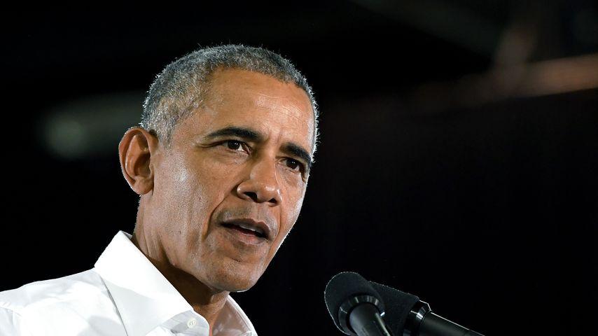 Barack Obama bei einer Rede im Oktober 2018