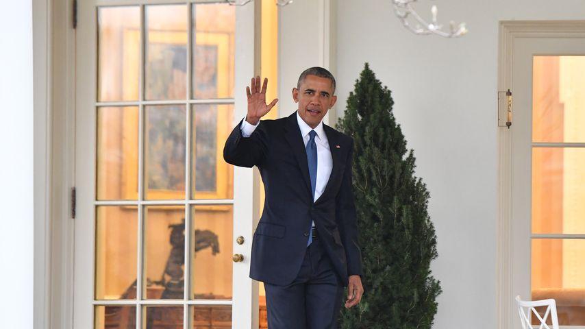 Barack Obama an seinem letzten Tag als US-Präsident