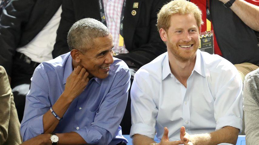 Barack Obama und Prinz Harry, 2017