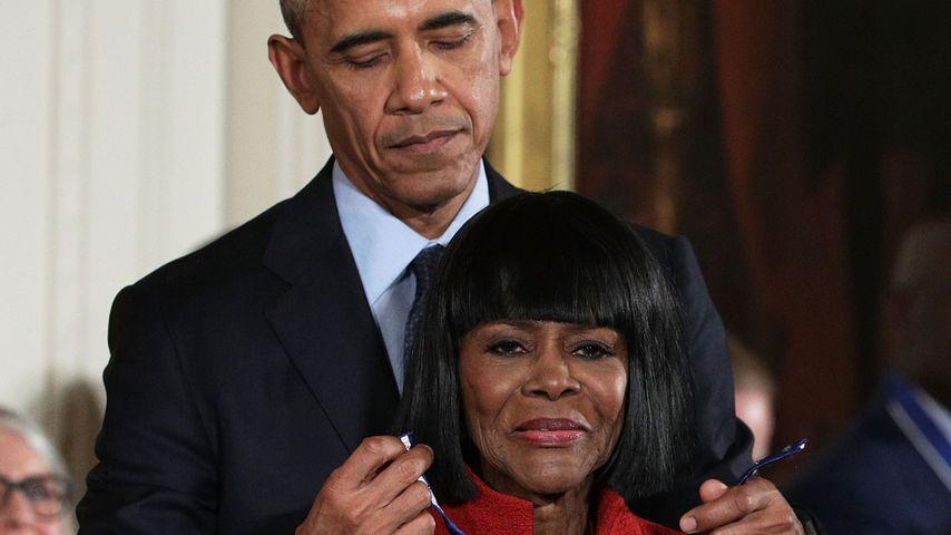 Obama, Oprah und viele weitere Stars trauen um Cicely Tyson