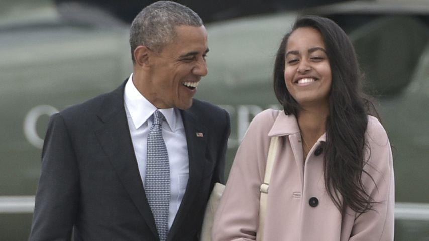 Stress mit Papa Barack? Malias Freund wohnte bei den Obamas