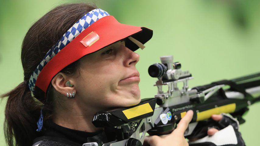 Barbara Engläder, deutsche Sportschützin bei Olympia