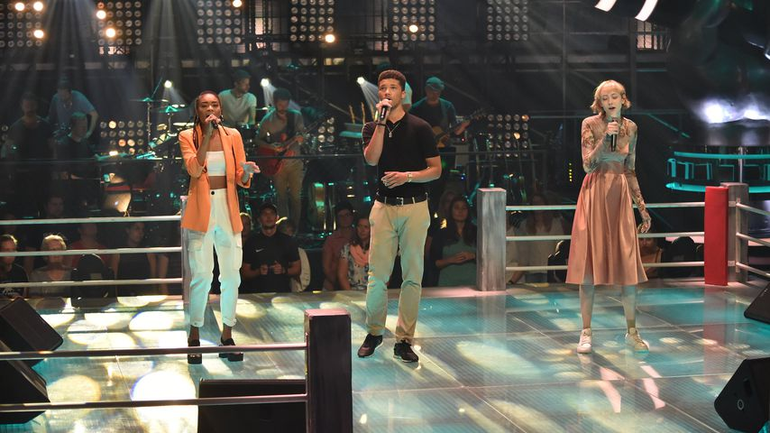 "Barbara, Frederic und Sally bei ""The Voice of Germany"""