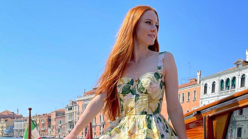 Barbara Meier im September 2021 in Venedig