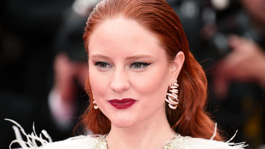 Barbara Meier im Mai 2019 in Frankreich