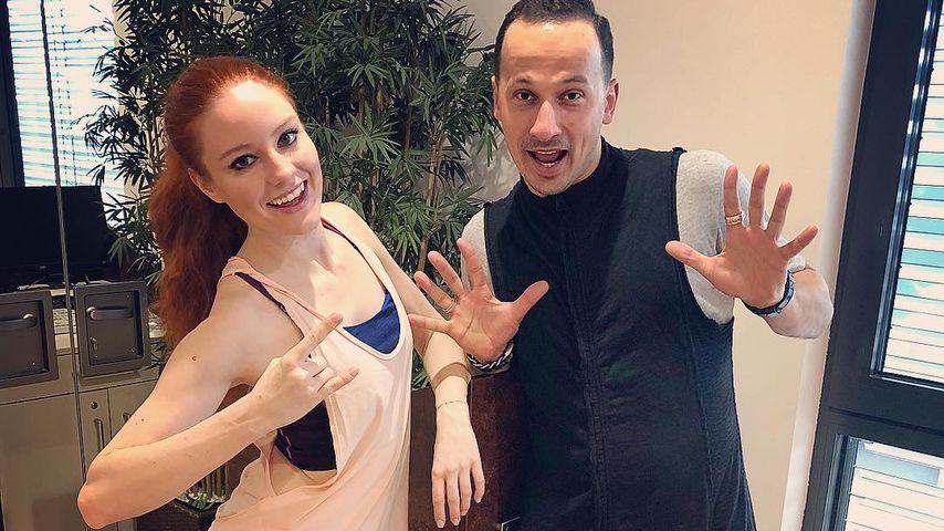 Barbara Meier und Sergiu Luca