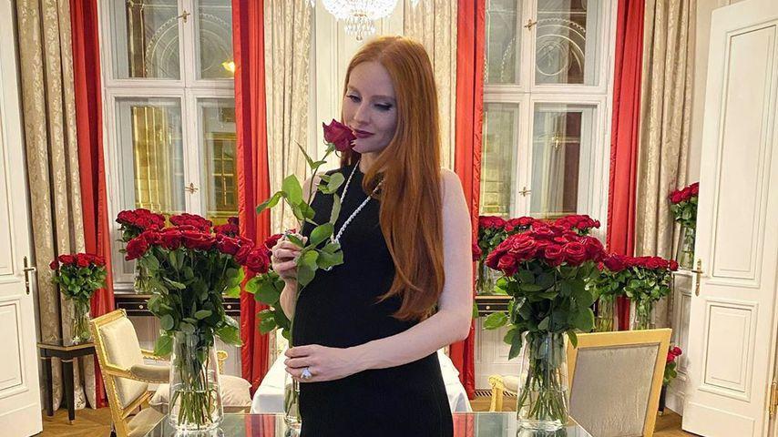 1000 rote Rosen: So war Barbara Meiers erster Hochzeitstag
