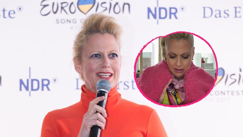 """Wie Bonbon"": Barbara Schönebergers ESC-Look polarisiert"