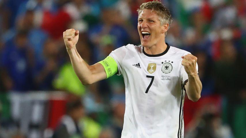 Bastian Schweinsteiger beim EM-Viertelfinale Deutschland gegen Italien in Bordeaux
